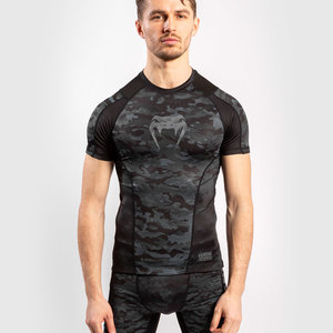 Venum Venum Defender Rash Guard S / S Dark Camo Heren