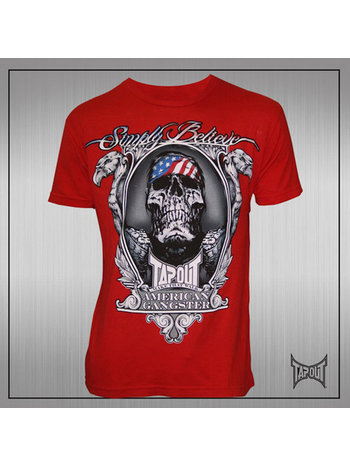 TapouT TapouT Chael Sonnen American Gangster T-Shirt Rood