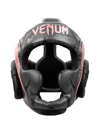 Venum Venum Elite Boxing Helmet Headgear Black Pink Gold