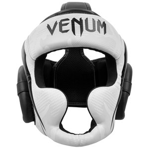 Venum Venum Elite Boxing Helmet Headgear Camo White Black