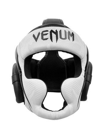 Venum Venum Elite Boxing Helmet Headgear Camo White Black