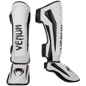 Venum Venum Elite Shin Guards Camo White Black