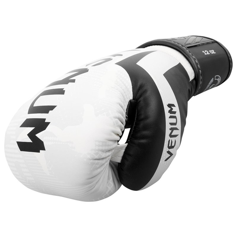 Venum Elite Boxing Gloves Black /& White sizes 10-16oz