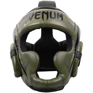 Venum Venum Elite Boxing Helmet Headgear Khaki Camo