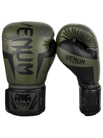 Venum Venum Elite KickboxingBoxhandschuhe Khaki Camo