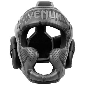 Venum Venum Elite Boxing Helmet Headgear Black Dark Camo