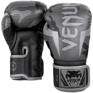 Venum Venum Elite (Kick)Boxing Gloves Black Dark Camo