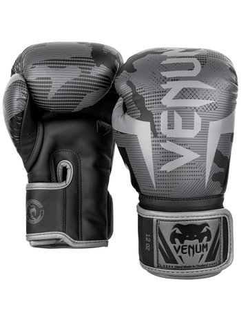 Venum Venum Elite KickboxingBoxhandschuhe Black Dark Camo
