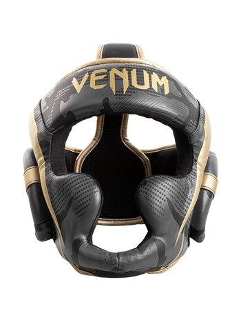 Venum Venum Elite Boxing Helmet Headgear Dark Camo Gold