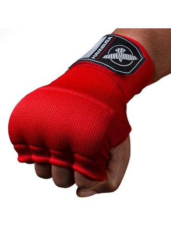Hayabusa Hayabusa Quick Gel Boxing Hand Wraps Red