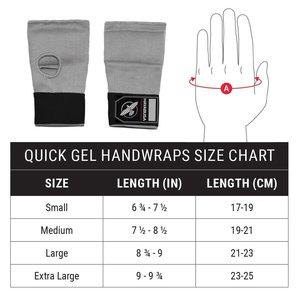 Hayabusa Hayabusa Quick Gel Handwraps Boksbandages Grijs