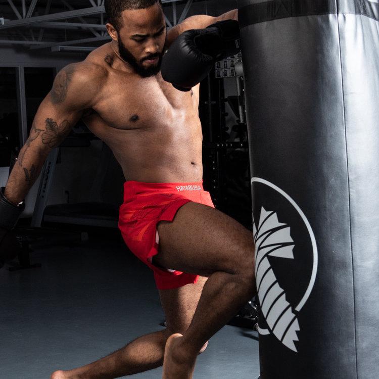 Hayabusa Hayabusa Arrow Kickboks Broek Martial Arts Sportshorts Rood