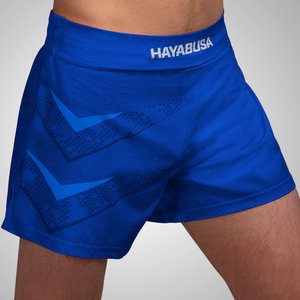 Hayabusa Hayabusa Arrow Kickboxing Martial Arts Sport Shorts Blue