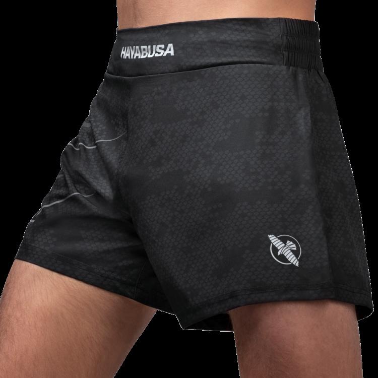 Hayabusa Hayabusa Arrow Kickboxing Martial Arts Sport Shorts Black