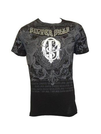 Silver Star Silver Star GSP Folie T-shirt UFC 94 Zwart