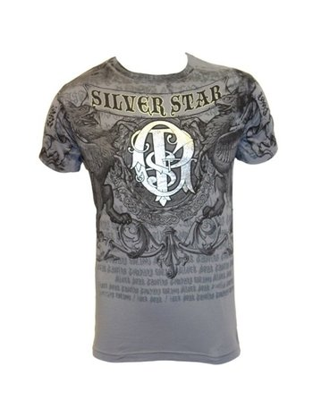 Silver Star Silver Star UFC 94 GSP Folie T-shirt Grijs