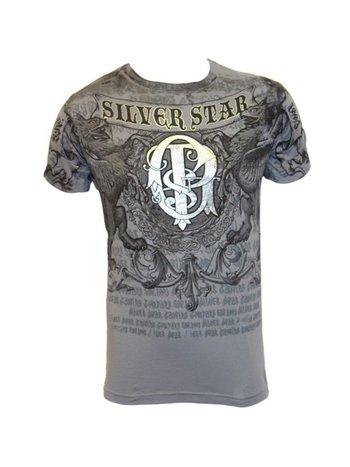 Silver Star Silver Star UFC 94 GSP Folien T-Shirt Grau