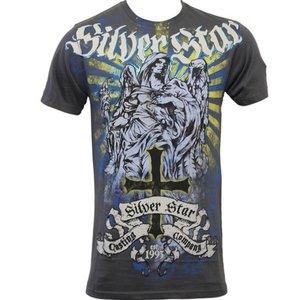 Silver Star Silver Star T Shirts Fallen Angel Foil Grey
