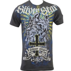 Silver Star Silver Star T-shirts Fallen Angel Foil Grijs