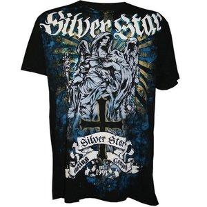 Silver Star Silver Star T-shirts Fallen Angel Foil Zwart