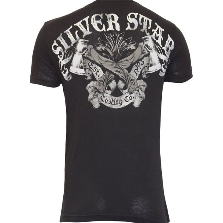 Silver Star Silver Star Battle T Shirt Black