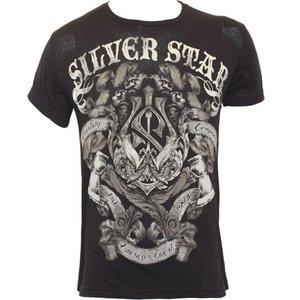 Silver Star Silver Star Battle T Shirt Zwart