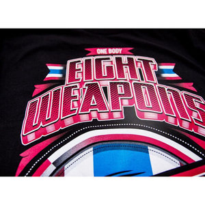 8 Weapons 8 Weapons T Shirt Mighty Thailand Muay Thai Kleding