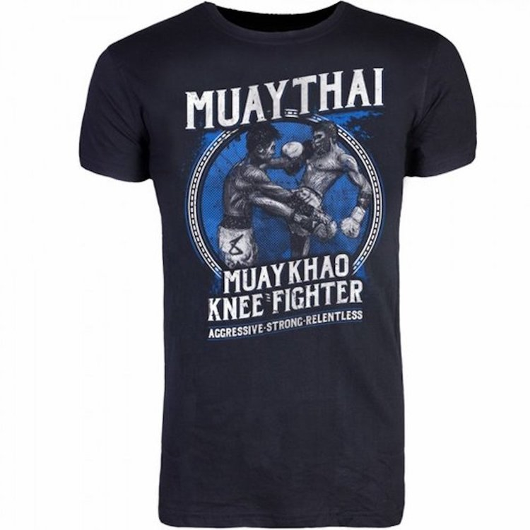 8 Weapons 8 Weapons T Shirt Muay Thai Kao Black