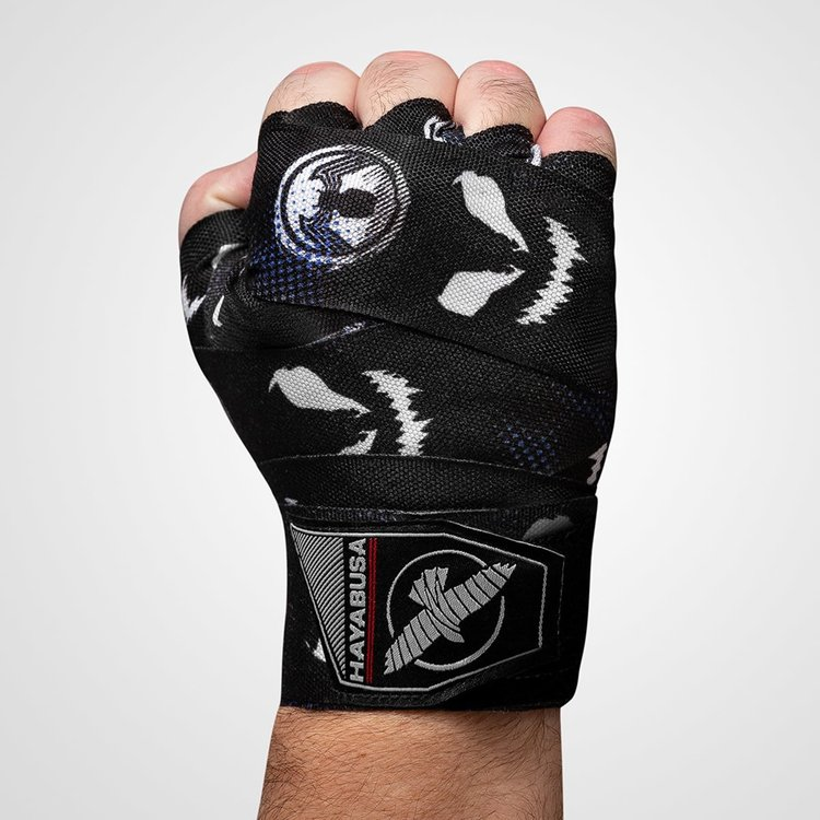 Hayabusa Hayabusa Marvel Hero Elite Hand Wraps Symbiote