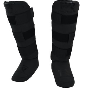 Punch Round™  Punch Round Kickboxing Shin Guards Experience Dull Black