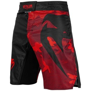 Venum Venum Fight Shorts Light 3.0 Red Black Camo