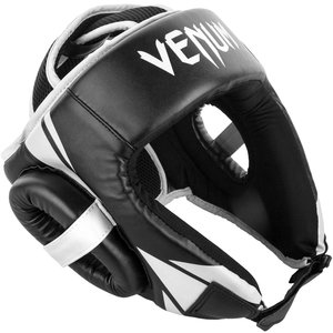 Venum Venum Challenger Open Face Headgear Black White