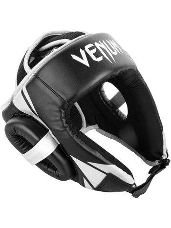 Venum Venum Challenger Open Face Headgear Black White