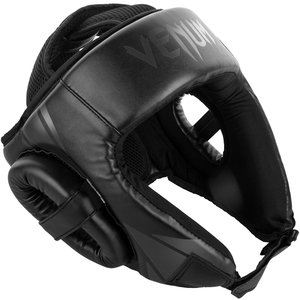 Venum Venum Challenger Open Face Headgear Black Black