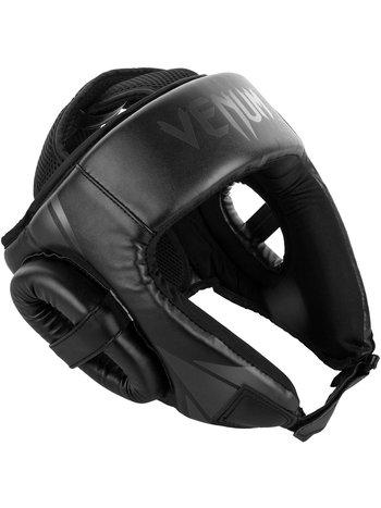 Venum Venum Challenger Open Face Headgear Black Black