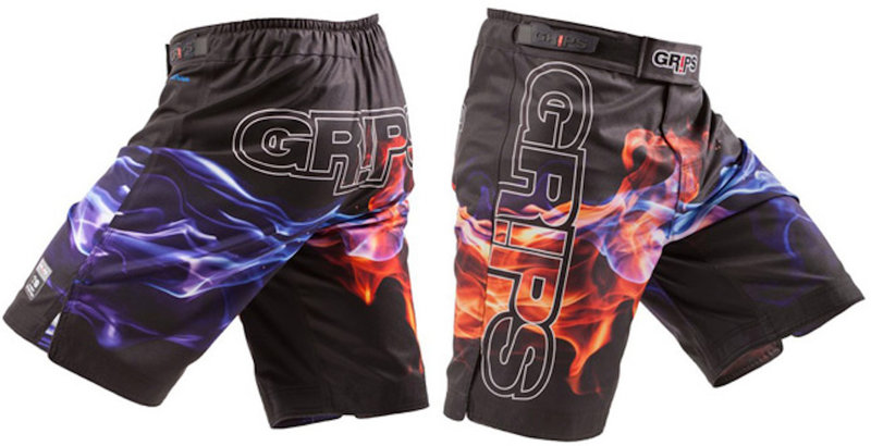 GR1PS - GRIPS GRIPS Jarama MMA/BJJ Fightshorts Flame GRIPS Athletics