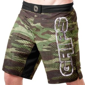 GR1PS - GRIPS GRIPS Fight Shorts Diablo Snake Fight Groen