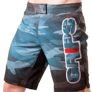 GR1PS - GRIPS GRIPS Fight Shorts Diablo Snake Fight Blauw