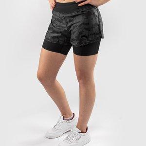 Venum Venum Defender 2.0 Hybrid Compression Shorts Women Black Camo