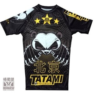 Tatami Fightwear Tatami Chinese Panda Rashguard Kurzarm