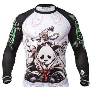 Tatami Fightwear Tatami Gentle PandaRash Guard Long Sleeves