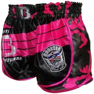 Booster Booster Dames Muay Thai Short Ad Pink Corpus
