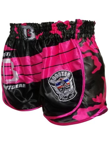 Booster Booster Ladies Muay Thai Shorts Ad Pink Corpus