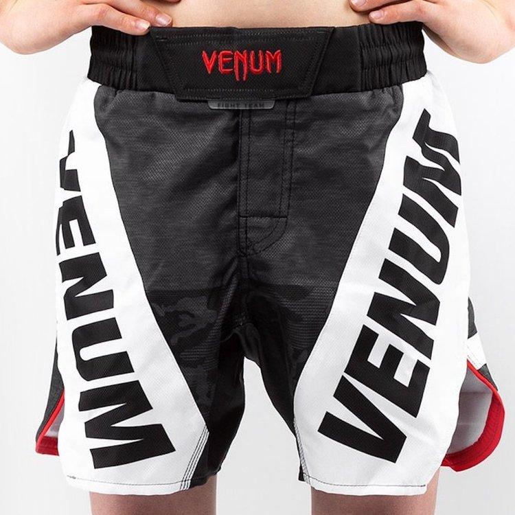 Venum Venum Fightshorts Bandit Kinderen Zwart Grijs