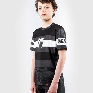 Venum Venum Bandit Kids Dry Tech T Shirts Black Grey