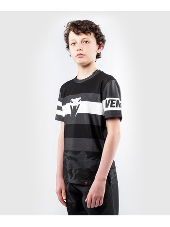 Venum Venum Bandit Kids Dry Tech T Shirts Black Grey