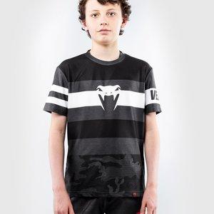 Venum Venum Bandit Kids Dry Tech T-shirts Zwart Grijs