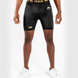Venum Venum G-Fit Kompressionsshorts Schwarz Gold