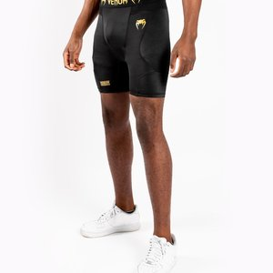Venum Venum G-Fit Compression Shorts Black Gold