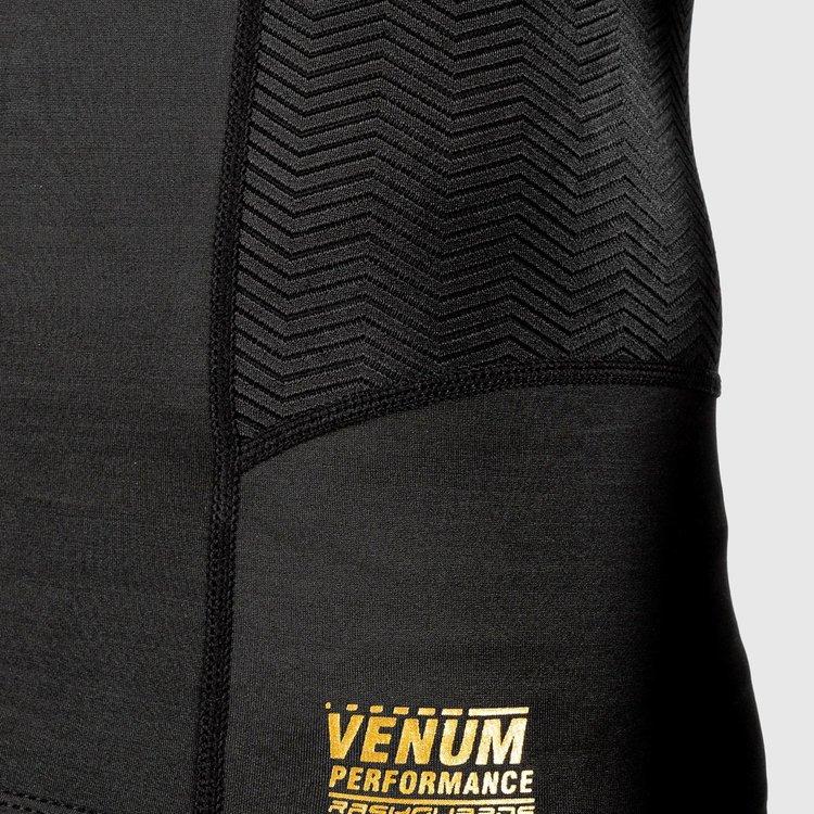 Venum Venum Rash Guard Kompressions ShirtG-Fit L/A Schwarz Gold